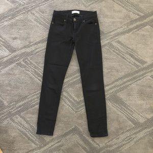 Free People black jeans.